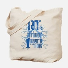 RT-Difference-blue Tote Bag