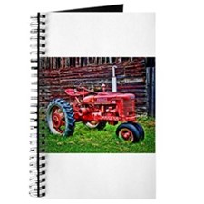 Red Tractor HDR Style Journal