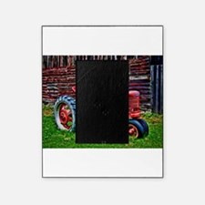Red Tractor HDR Style Picture Frame