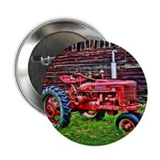 """Red Tractor HDR Style 2.25"""" Button (100 pack)"""