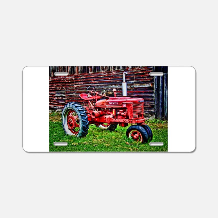 Red Tractor Plate Outlit : Tractors license plates front plate