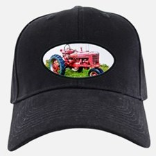 Red Tractor in the Grass Cap