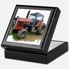 MASSEY FERGUSON silo Keepsake Box
