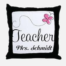 Teacher Cute Personalized Throw Pillow