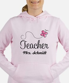 Teacher Cute Personalized Women's Hooded Sweatshir