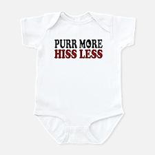 Shorthair Purr Infant Bodysuit