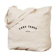 Lake Tahoe Nevada Tote Bag