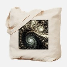 Unique Fractal Tote Bag