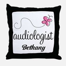 Audiologist Gift (personalized) Throw Pillow