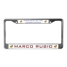 Marci Rubio President USA V2 License Plate Frame