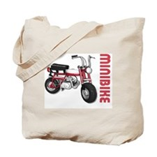 Minibike Red Tote Bag