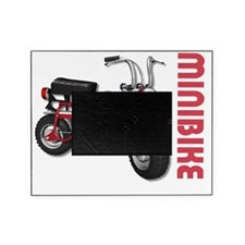 Minibike Red Picture Frame