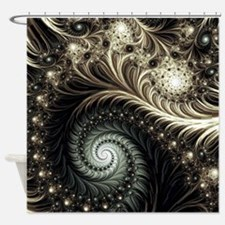 Unique Aliens Shower Curtain