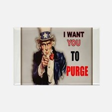 i want you to purge uncle sam Magnets