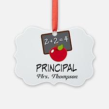 School Principal Personalized Ornament