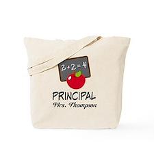 School Principal Personalized Tote Bag