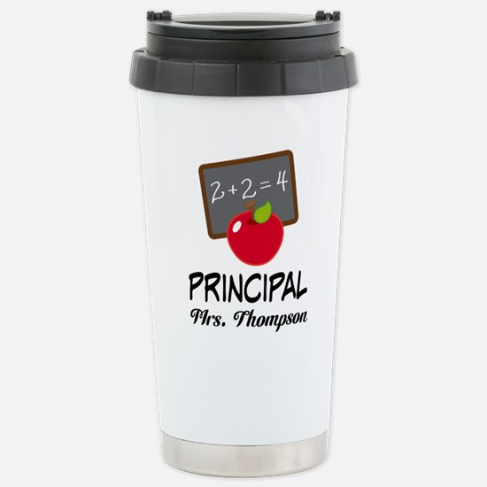 School Principal Personalized Travel Mug