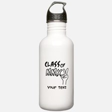 Personalized Class of 2015 MMXV Water Bottle