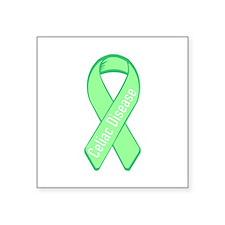 """Cute Celiac disease awareness Square Sticker 3"""" x 3"""""""