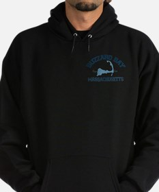 Buzzards Bay - Cape Cod. Hoodie (dark)