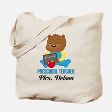 Preschool Teacher personalized Tote Bag