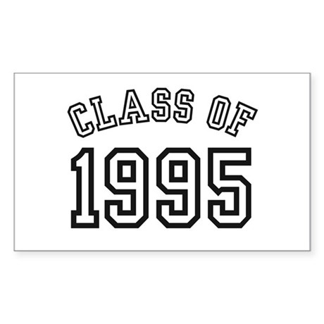 Class of 1995 Rectangle Sticker
