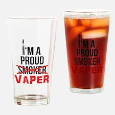 I'm a Proud Vaper (Ex-Smoker) Drinking Glass