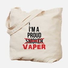 I'm a Proud Vaper (Ex-Smoker) Tote Bag