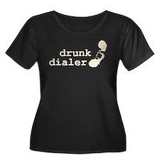 Drunk Dialer Plus Size T-Shirt
