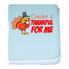 Daideo Thankful For Me baby blanket