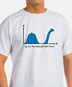 Funny Bell Curve T-Shirt