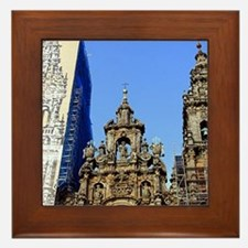 Cathedral of Santiago de Compostela, S Framed Tile