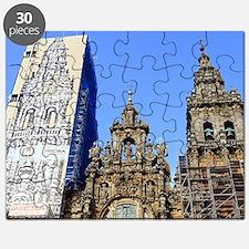 Cathedral of Santiago de Compostela, Spain, Puzzle