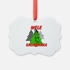 Mele Kalikimaka (Merry Christmas) Ornament