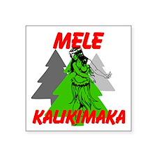 Mele Kalikimaka (Merry Christmas) Sticker