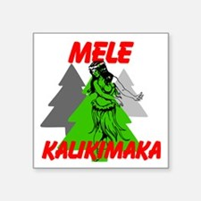Mele Kalikimaka (Merry Christmas) Sticker