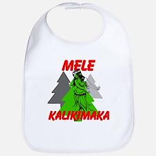 Mele Kalikimaka (Merry Christmas) Bib