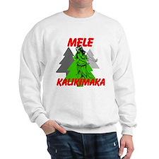 Mele Kalikimaka (Merry Christmas) Sweatshirt