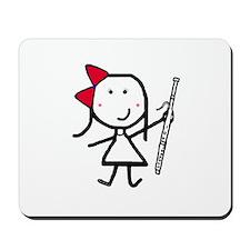 Girl & Bassoon Mousepad