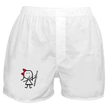 Girl & Bassoon Boxer Shorts