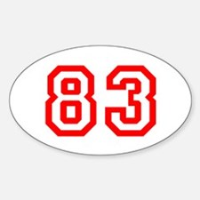 83 Decal