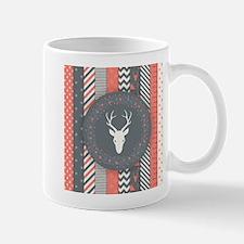 Deer Wreath Mugs