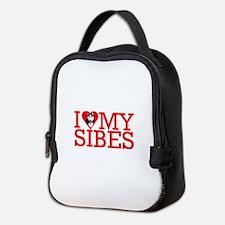 Unique Siberian Neoprene Lunch Bag