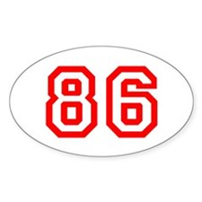 86 Decal
