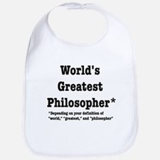 World's Greatest Philosopher Bib