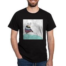 Hipster Polar Bear T-Shirt