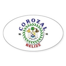 Corozal Oval Decal
