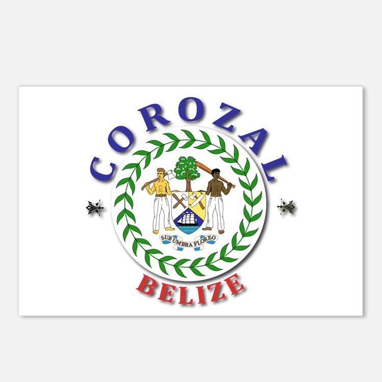 Corozal Postcards (Package of 8)
