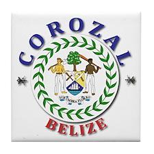 Corozal Tile Coaster