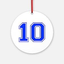 10 Ornament (Round)